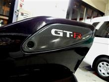パープルカラーのR33GTR!